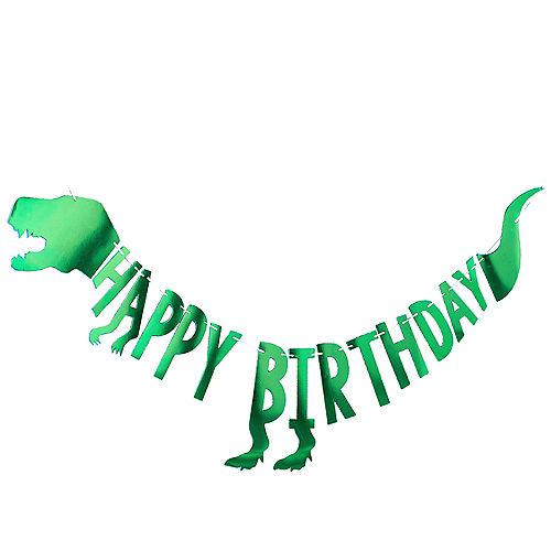 Roar Dinosaur Letter Banner