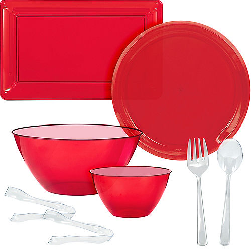 Christmas Bowls And Platters.Serving Trays Serving Platters Plastic Serving Bowls