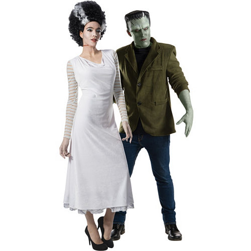 Adult Bride Of Frankenstein Frankenstein Couples Costumes Party City