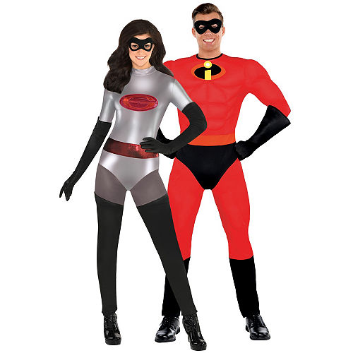 adult elastigirl mr incredible couples costumes incredibles 2