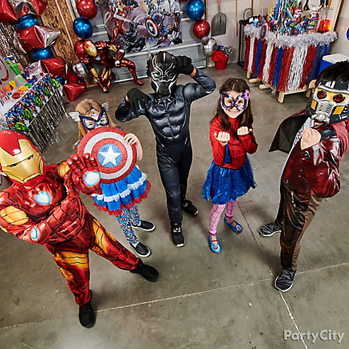 Avengers Birthday Party Ideas